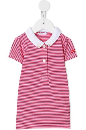 Miki House Patch-detail polo shirt