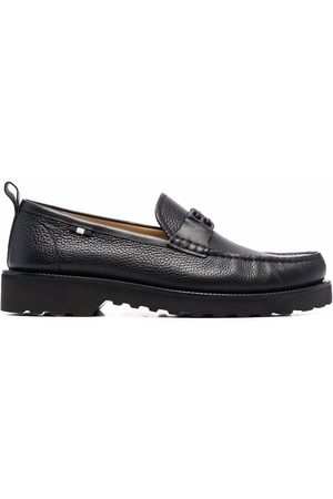Bally Logo-plaque leather loafers