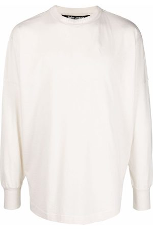 Palm Angels GD CLASSIC LOGO OVER TEE L/S OFF O