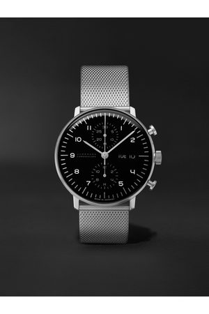Junghans Men Watches - Max Bill Chronoscope 40mm Stainless Steel Watch, Ref. No. 27/4500.49