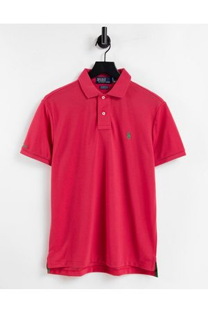 Polo Ralph Lauren Earth recycled pique polo contrast collar/cuff custom regular fit in