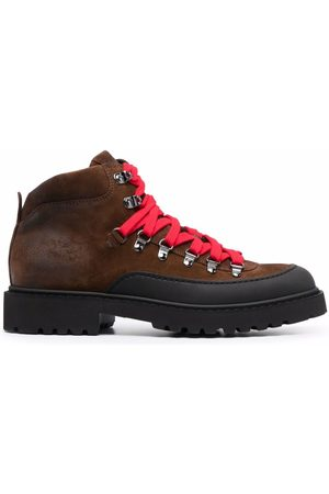 Doucal's Men Boots - Chunky lace-up leather boots