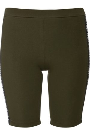 Dsquared2 Jersey Cycling Shorts W/ Logo Bands