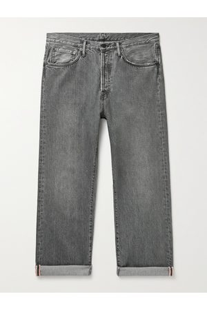 Acne Studios Men Straight - Washed Selvedge Jeans