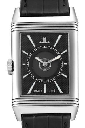Jaeger-LeCoultre Reverso Classic Large Duoface Day Night Steel Mens Watch 215.8.S9 Q3838420