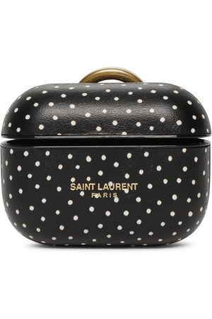 Saint Laurent Smooth Leather Airpods Pro Case