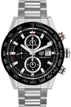Tag Heuer Carrera Chronograph Automatic Mens Watch Car201z Box Papers