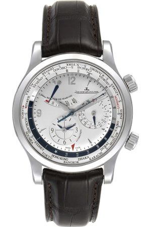 Jaeger-LeCoultre Master World Geographic Steel Mens Watch 152.84.20