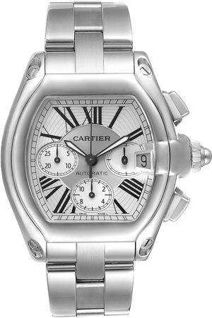 Cartier Roadster Xl Chronograph Automatic Mens Watch W62019x6