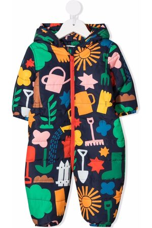Stella McCartney Baby Rompers - Graphic-print recycled polyester romper