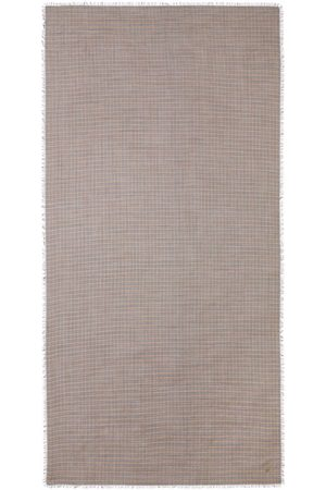 Burberry Scarves - Frayed check scarf