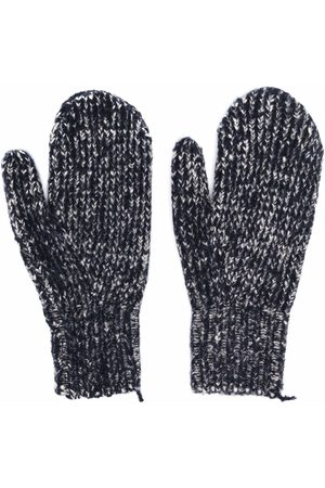 Acne Studios Purl-knit wool-blend gloves
