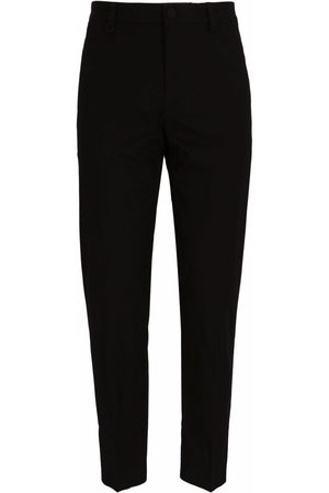 BOSS X Porsche tapered stretch-cotton trousers