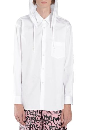 Comme des Garçons Men Long Sleeve - With Classic Collar and Hood