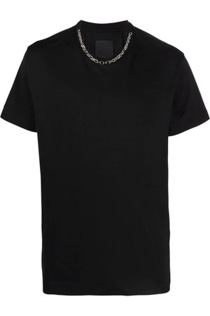 Givenchy Chain-Link Detail Short-Sleeve T-Shirt