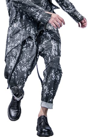 Issi Marble Cargo Pants