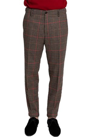 Beaucoup Houndstooth Tailored Trousers