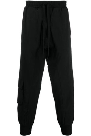 THOM KROM Men Tapered - Cropped-Tapered Track Pants
