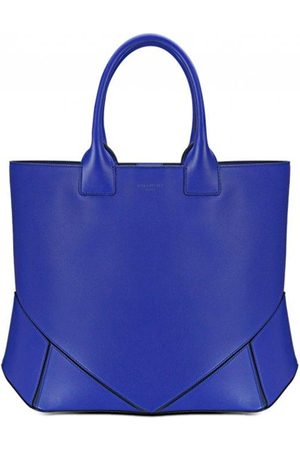 Luxe Designers Givenchy Bright Blue Leather Easy Tote Bag