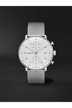 Junghans Max Bill Chronoscope Automatic 40mm Stainless Steel Watch, Ref. No. 027/4003.48