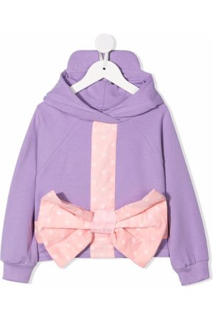 Wauw Capow by Bangbang Girls Hoodies - Lucca Bow hoodie