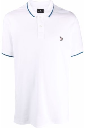 Paul Smith Embroidered-logo short-sleeved polo shirt