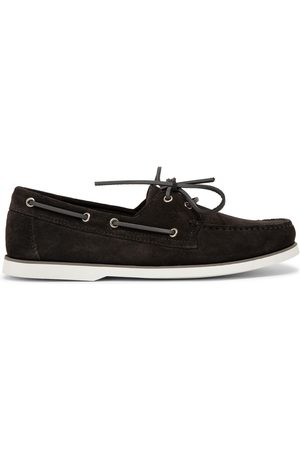 Mengloria Dynamic suede boat shoes