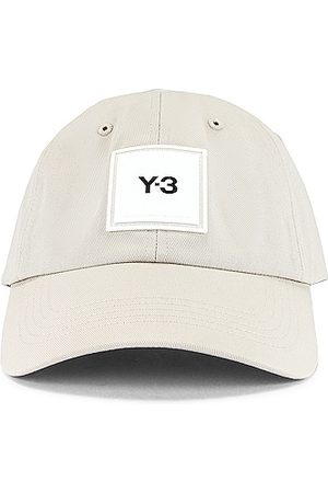 Y-3 Square Label Cap in Clear