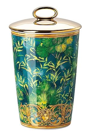 VERSACE Jungle Votive with Lid & Fragrance in . Size all.