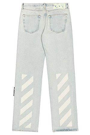 OFF-WHITE Relaxed Fit Jeans in