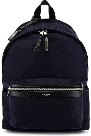 Saint Laurent City Backpack in Midnight &