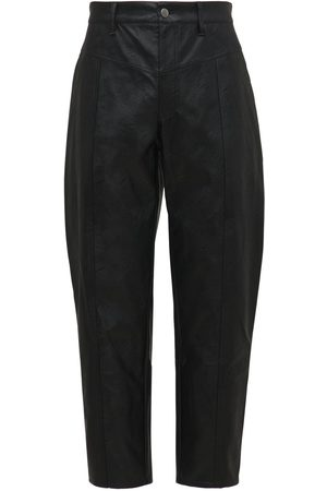 KOCHÉ Eco Leather Tapered Pants