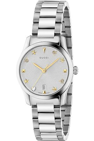 Gucci G-Timeless 27mm Watch in Steel