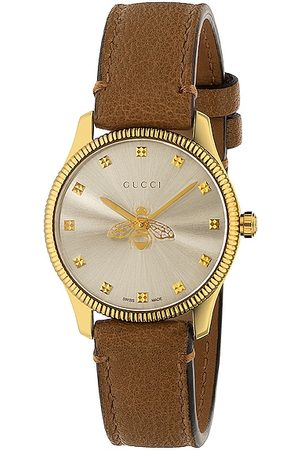 Gucci G-Timeless Slim 29mm Watch in Taupe