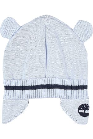 Timberland Kids - Knitted Beanie With Animal Ears Pale - Boy - 42 cm (3 months) - - Beanies