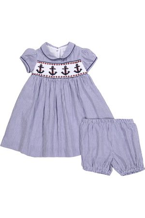 Rachel Riley Baby Dresses - Baby cotton dress and bloomers set