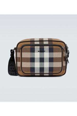 Burberry Men Suitcases & Luggage - Paddy checked crossbody bag