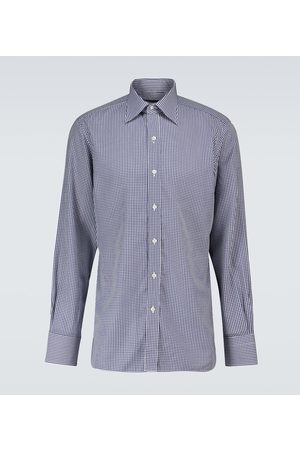 Tom Ford Checked long-sleeved shirt