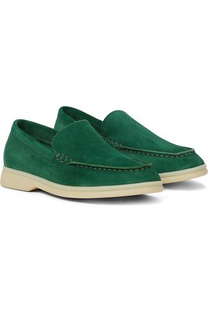 Loro Piana Boys Loafers - Summer Walk suede loafers