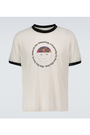 THE ELDER STATESMAN Search For Meaning knitted T-shirt
