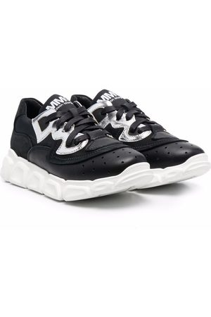 MM6 KIDS Boys Sneakers - Logo-print lace-up sneakers