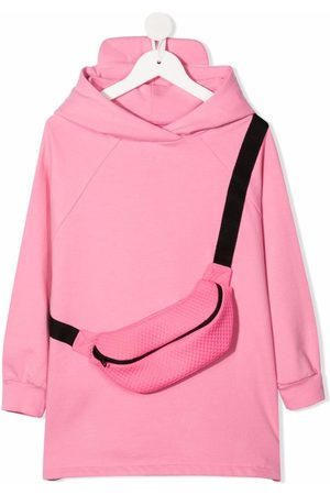 Wauw Capow by Bangbang Evelyn hooded sweater dress