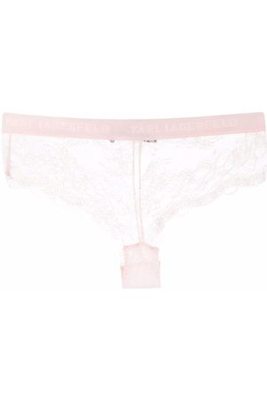 Karl Lagerfeld Women Hipsters - Lace hipster briefs