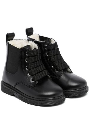 Babywalker Lace-up fastening ankle boots