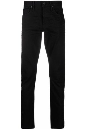 Tom Ford Slim-cut washed jeans