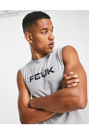 French Connection FCUK sleeveless t-shirt vest in