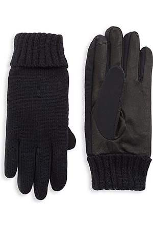 Saks Fifth Avenue COLLECTION Nappa Touch Tech Leather Gloves