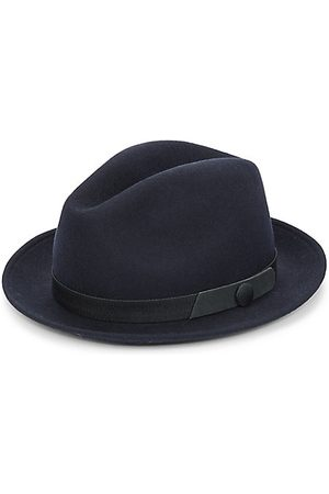 Saks Fifth Avenue COLLECTION Banded Wool Fedora