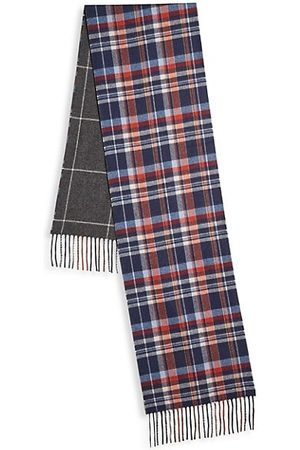 Saks Fifth Avenue COLLECTION Reversible Silk & Cashmere Scarf