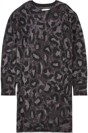 Zadig & Voltaire Camo Knitted Dress Gray